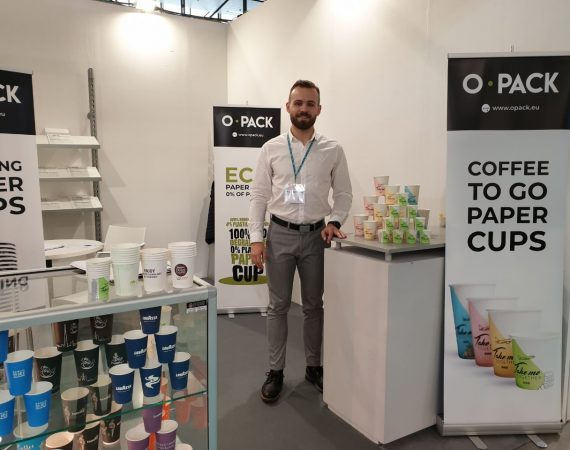 OPACK paper cups at two trade fairs this October