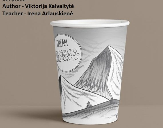 Results of the paper cups drawing contest